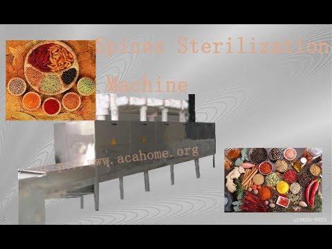 Spices Sterilization Machine ,Industry Microwave Sterilization Equipment