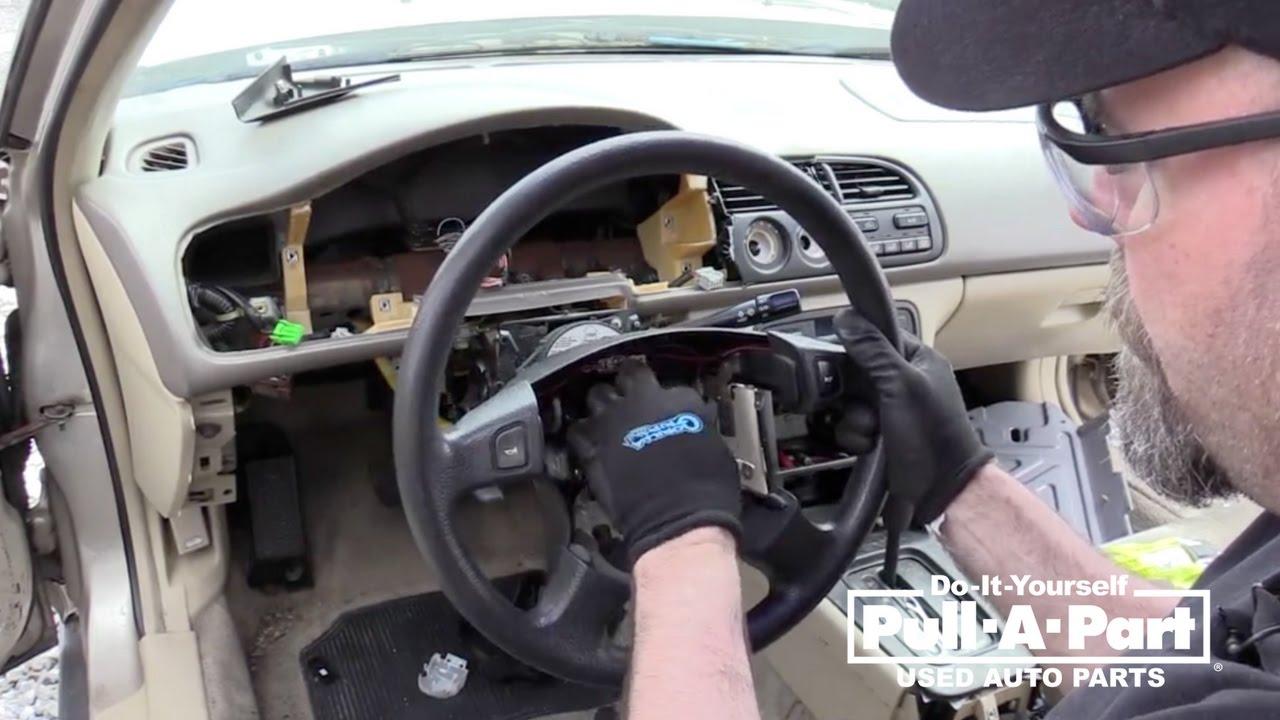 1997 2002 honda accord steering wheel removal guide [ 1280 x 720 Pixel ]