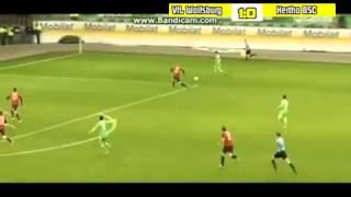 VIEIRINHA GOAL WOLFSBURG (2:0) I Wolfsburg - Hertha BSC 5 : 1
