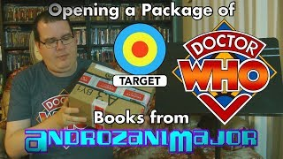 Opening a Package of Doctor Who Books from AndrozaniMajor