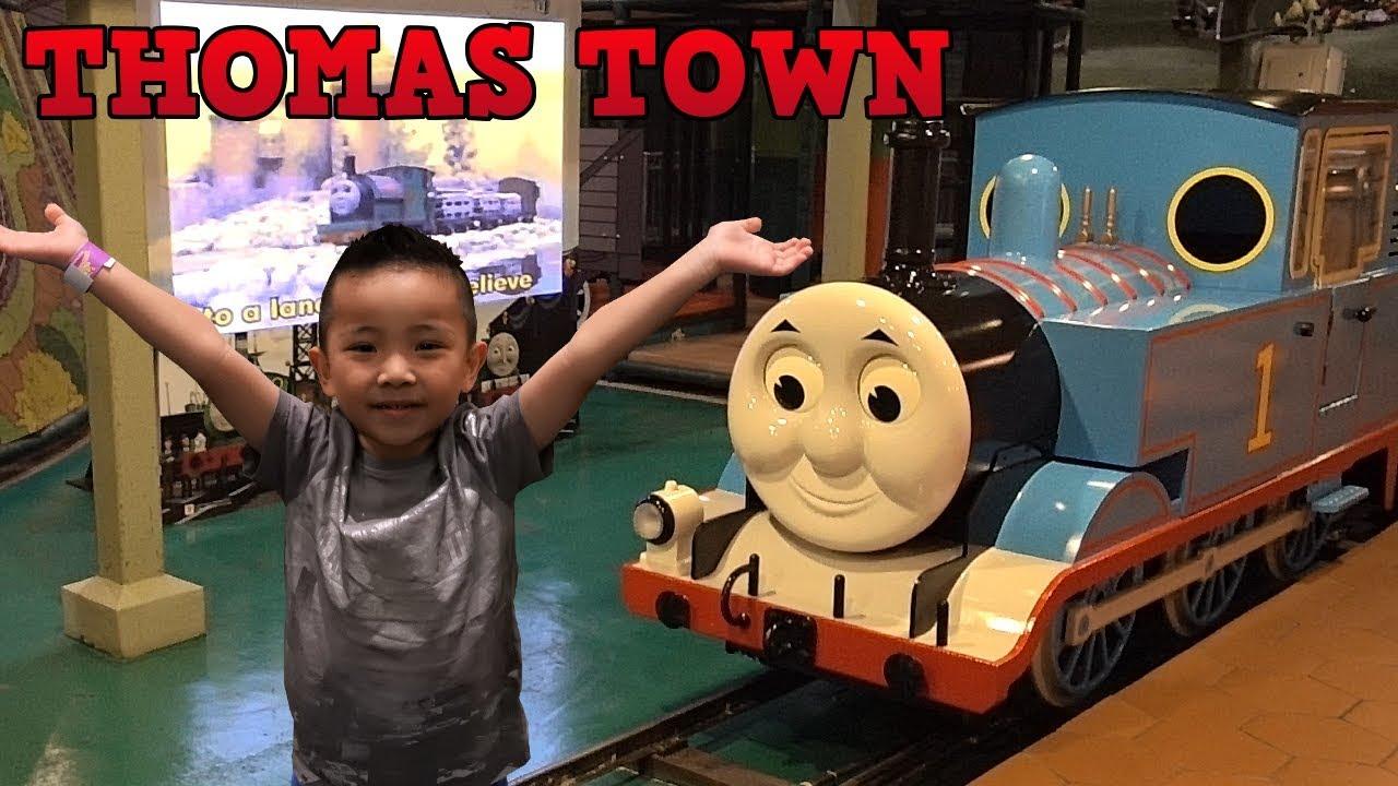 Thomas The Tank Engine Indoor Playground Theme Park Fun Thomas Town Malaysia CKN Toys