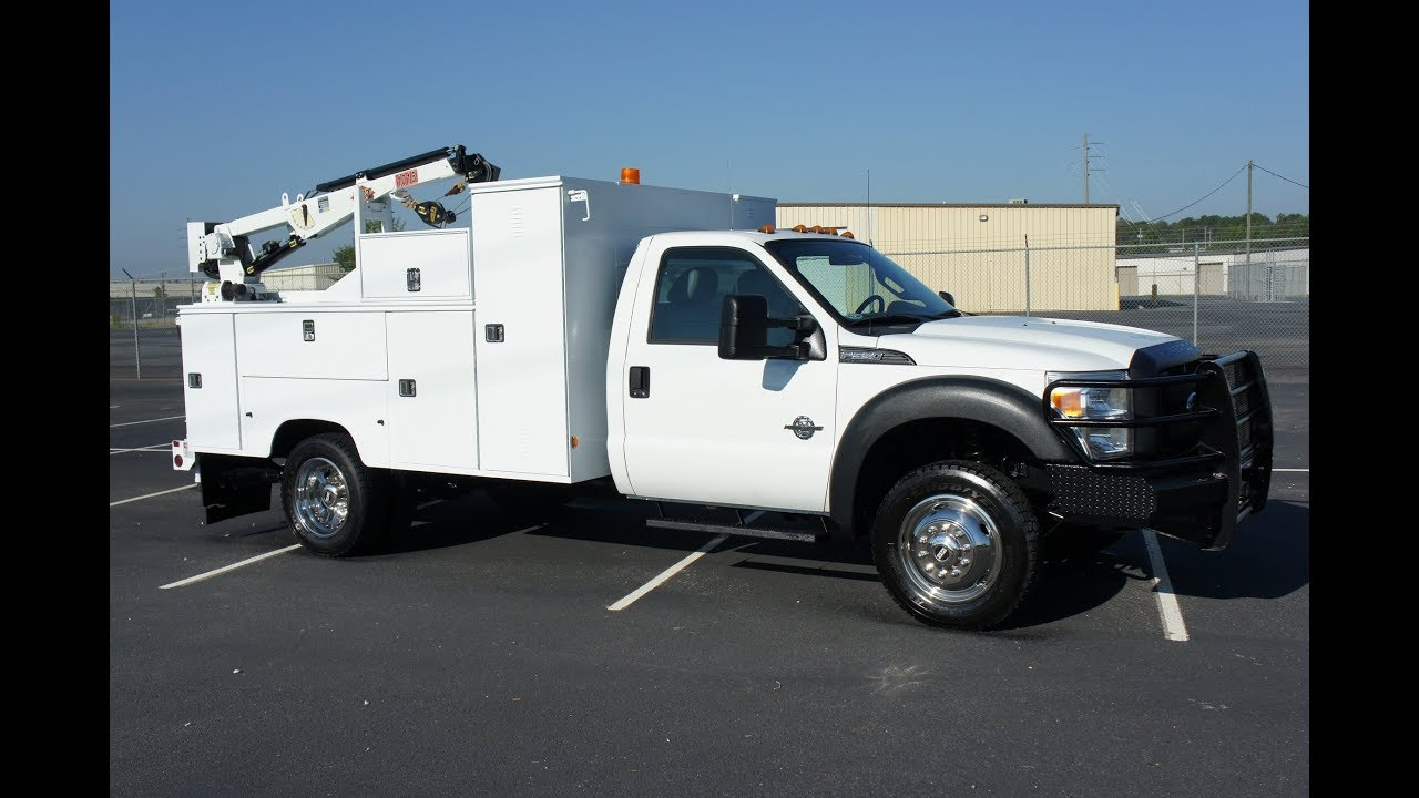 2011 ford f-550 mechanics utility service truck for sale diesel