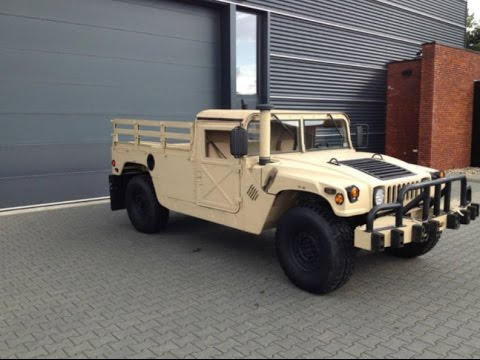 Super Clean Humvee Pickup Truck For Sale In The Netherlands Youtube
