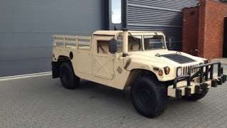 Super Clean Humvee Pickup Truck For Sale in the Netherlands