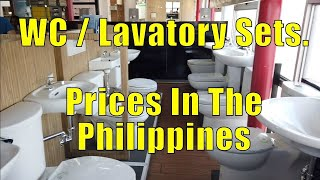 WC / Lavatory Sets, Prices In The Philippines.