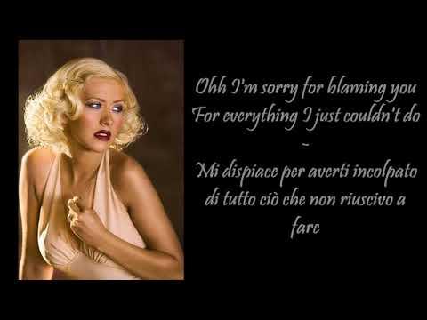 Hurt - Christina Aguilera - Testo e Traduzione Ita (Lyrics)