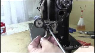 Швейная машина Оршанского завода. Ремонт моталки и нитенаправители. Видео № 175. Часть 1.(Изготовление нитенаправителей, ремонт и смазка моталки. Специально для тех кто шьёт,