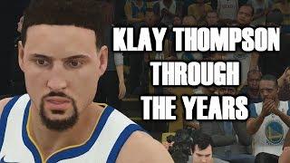 KLAY THOMPSON THROUGH THE YEARS - NCAA BASKETBALL 09 - NBA 2K18