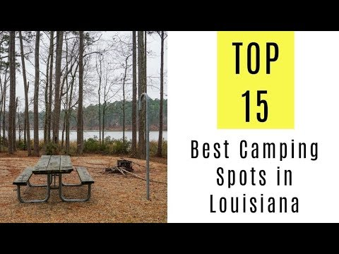Louisiana state parks with full hookups