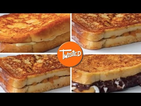 How To Make French Toast 4 Ways | Delicious Breakfast Recipes | Twisted
