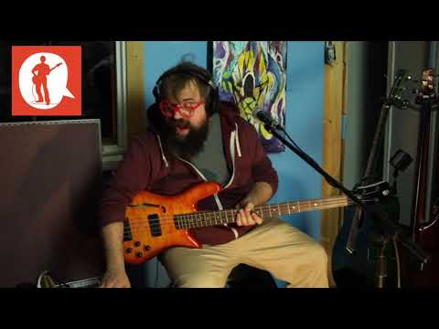 """United""- Stephen Lewis - Bass Players United (Funk Bass Live Looping)"