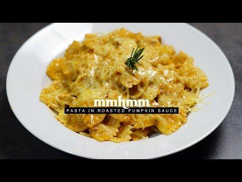Pasta In Roasted Pumpkin Sauce | Mmhmm