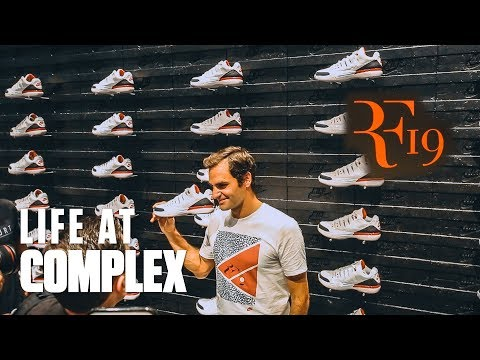 STOPPED BY THE NIKE ROGER FEDERER x KITH OPENING! | #LIFEATCOMPLEX