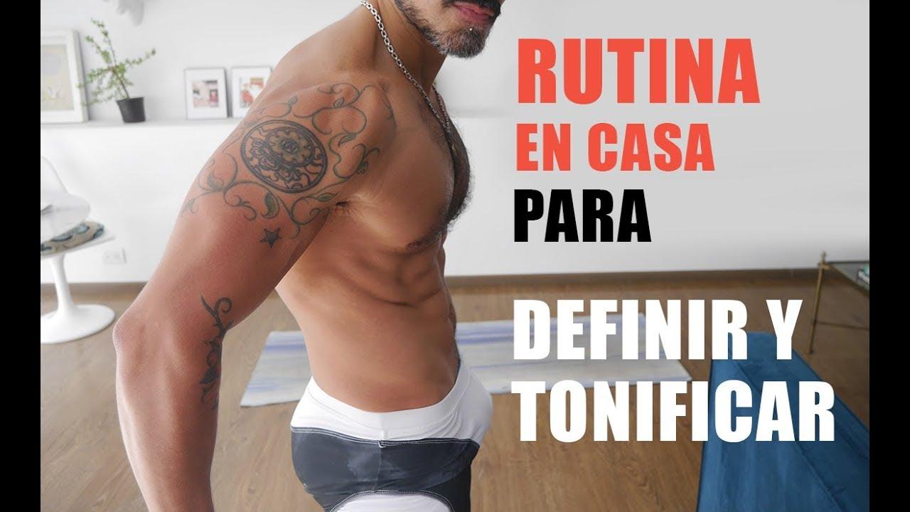 Rutina y dieta para tonificar el cuerpo