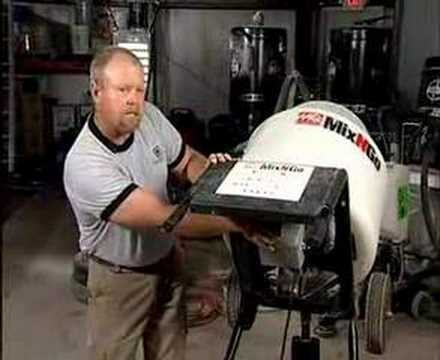 Portable Concrete Mixer Video Concretenetwork Com Youtube
