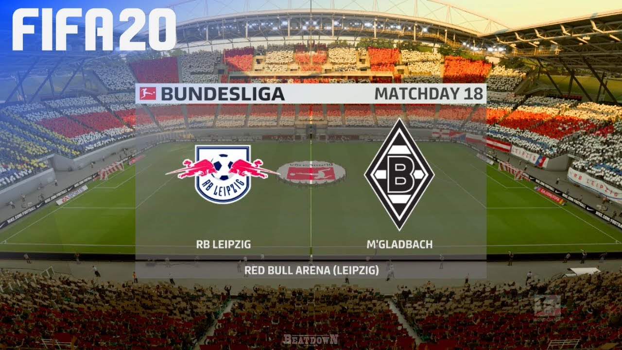 Fifa 20 Rb Leipzig Vs Borussia Monchengladbach Red Bull Arena Youtube