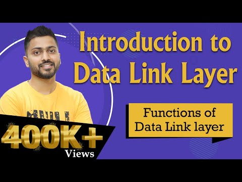 Data Link Layer | Responsibilities Of Data Link Layer | Computer Networks