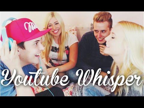 YOUTUBER WHISPER CHALLENGE ! mit Bibi, Julian & Dagi | LIONTTV