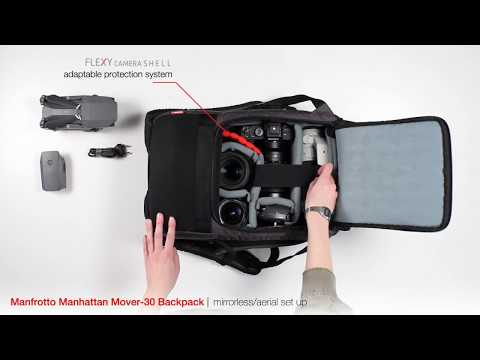 87ecd8ec827a Manfrotto Manhattan Mover-30 Backpack for DSLR/CSC - Big capacity, compact  pack - YouTube