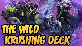 The Wild Krushing Deck | Rastakhan's Rumble | Hearthstone
