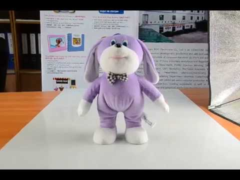 dancing rabbit toy stuffing animal toys with music