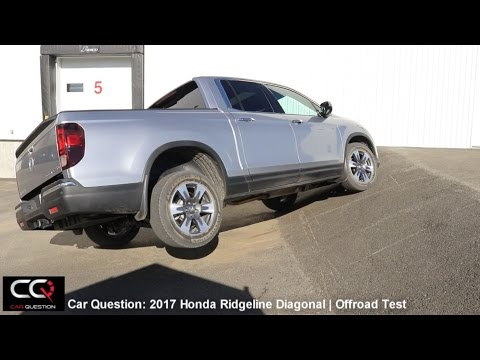 I-VTM4/AWD Test: 2017-2018 Honda Ridgeline | Diagonal and Offroad test! | complete review: Part 6/8
