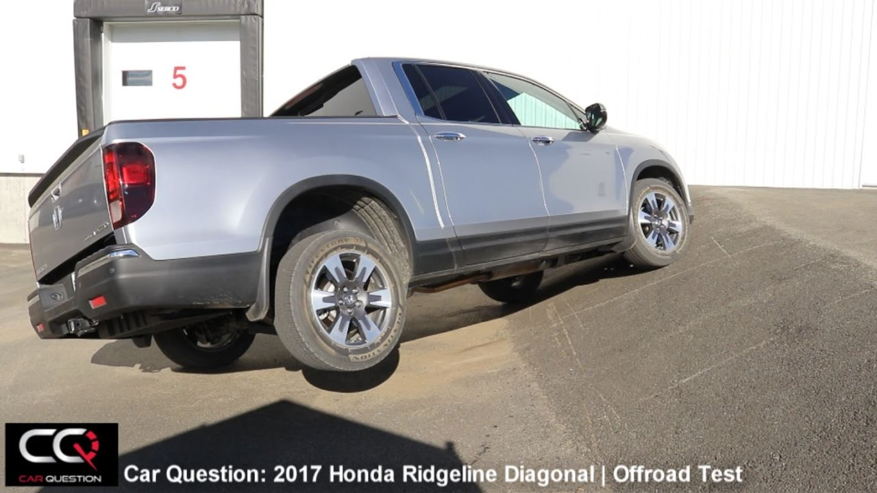 Honda Ridgeline Off Road >> I Vtm4 Awd Test 2017 2018 Honda Ridgeline Diagonal And Offroad Test Complete Review Part 6 8