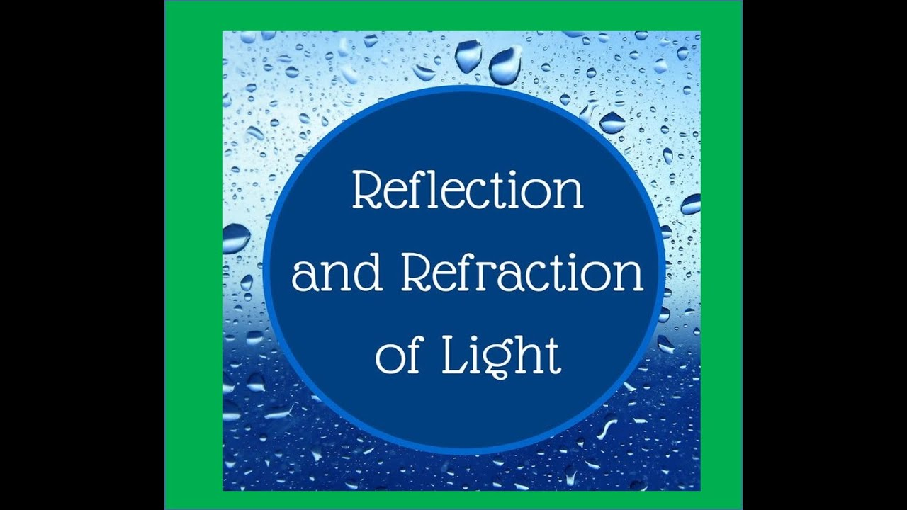 Reflection And Refraction Of Light Introduction For Kids