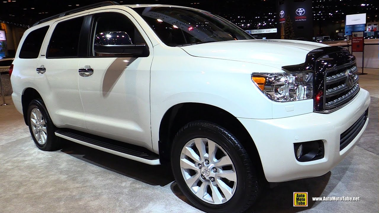 2016 Toyota Sequoia Exterior And Interior Walkaround 2016