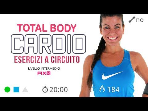 Fitness a Casa! 20 Minuti Di Allenamento Total Body a Circuito
