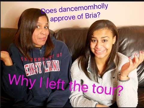 WHY WE AREN'T GOING ON TOUR?! DanceMom Holly Q&A  | Nia Sioux
