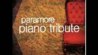 Paramore Piano Tribute - That