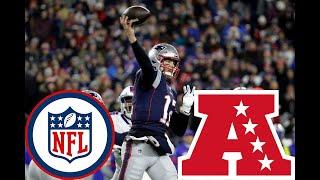 【Google Earth】NFL 2019 AFC 16チーム