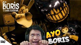 GAME BARU NIHH KITA JADI BORIS!! Boris & The Dark Survival Part 1 [SUB INDO] ~Gameplaynya Beda!!