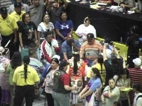 *HQ HD* Wild Band Of Commanches @ GON Gathering of Nations 2012 - Friday Noon