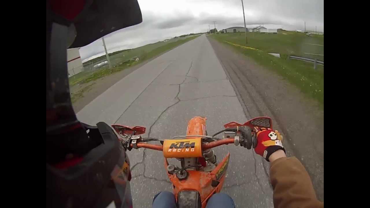 KTM 125 sx Top Speed - GoPro
