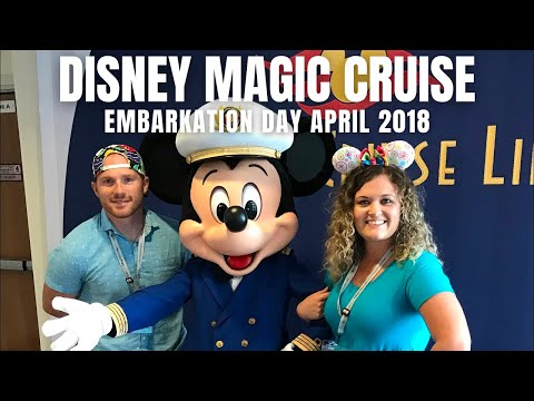 Disney Magic Cruise: Embarkation Day!