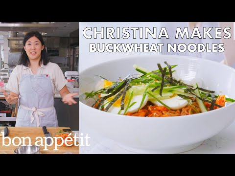 Christina Makes Buckwheat Noodles | From The Test Kitchen | Bon Appétit