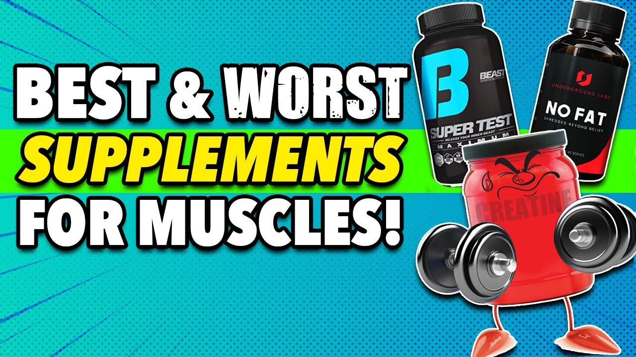 4 Best Supplements TO Build Muscle Faster (And 4 To Avoid!)