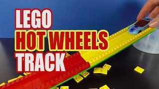 LEGO Hot Wheels Track - LEGO LIFE HACKS - How to Make a LEGO Hot Wheels Track