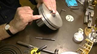 Clock repair tutorial. #16. Making a gong for an English Skeleon clock.