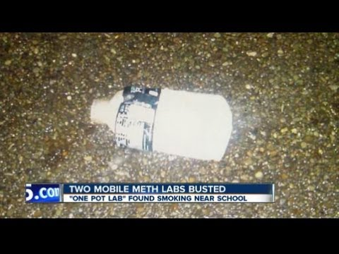 Akron mobile meth labs
