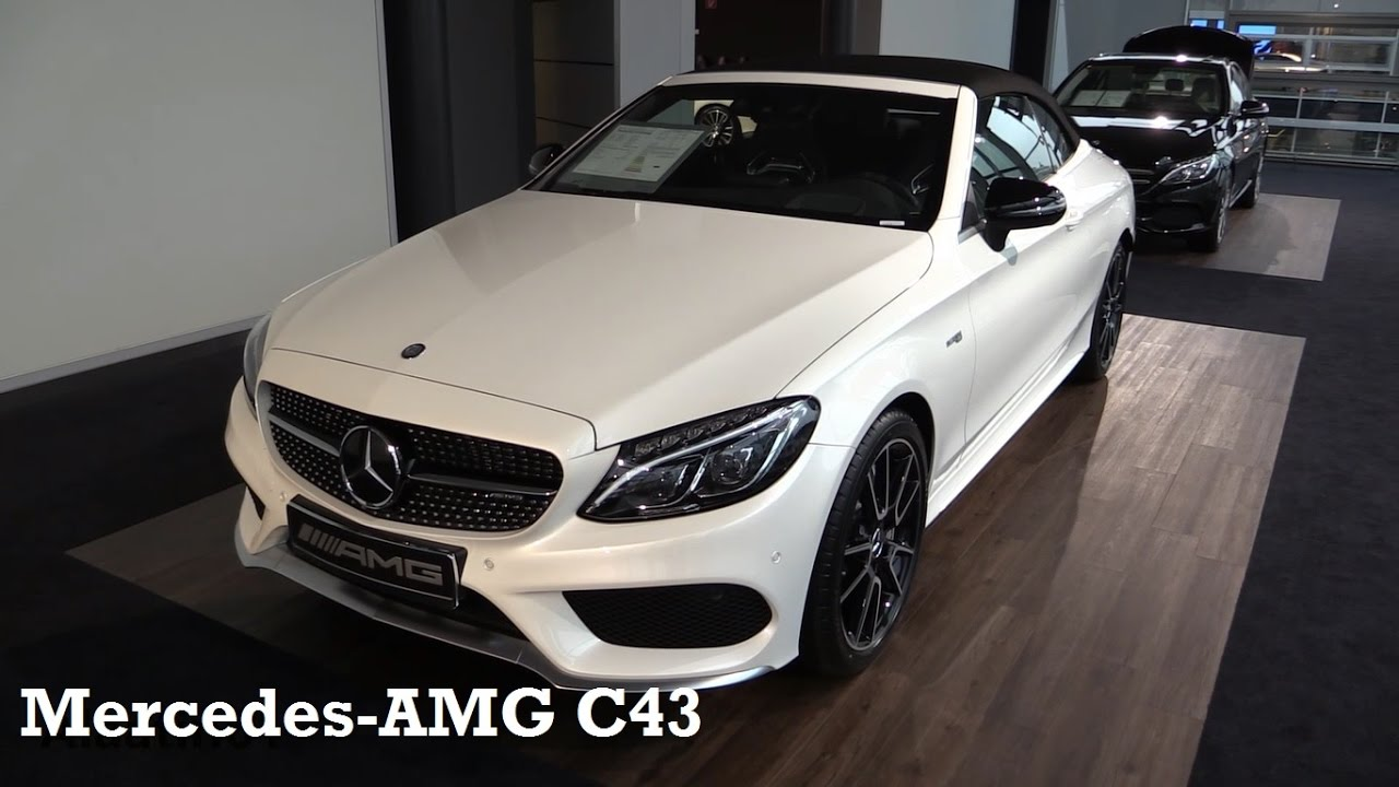 mercedes amg c43 2017 in depth review interior exterior youtube. Black Bedroom Furniture Sets. Home Design Ideas