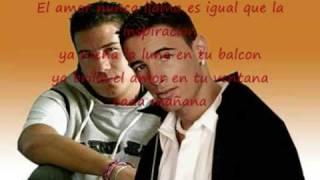 Brilla el amor con letra - Andy & Lucas -