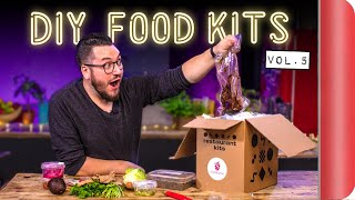 Chefs and Normals Review DIY Food Kits | Vol. 5