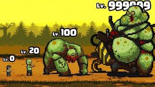 EVOLVING the STRONGEST ZOMBIE BOSS In Dead Ahead: Zombie Warfare #2