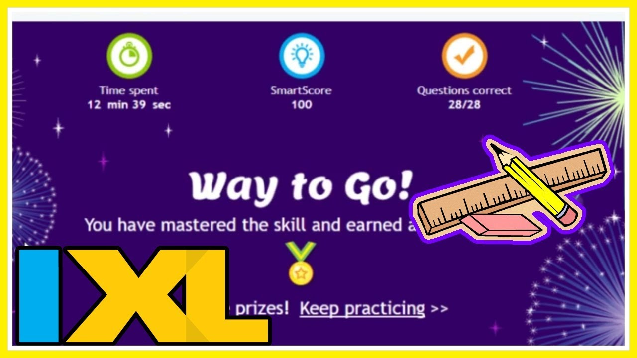 IXL | Fractions & Mixed Numbers Review 6th grade