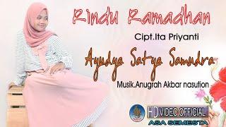 AYUDYA SATYA SAMUDRA - RINDU RAMADHAN | Pop Religi Terbaru 2021 ( Official Music Video )