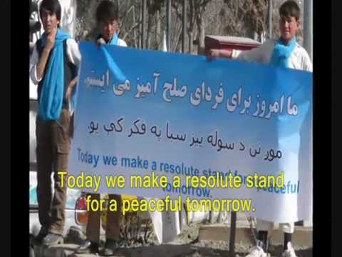 Afghan Youth Peace Volunteers Video Compilation