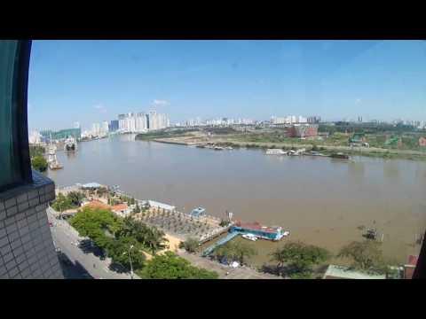 A view from Renaissance Riverside Hotel Saigon